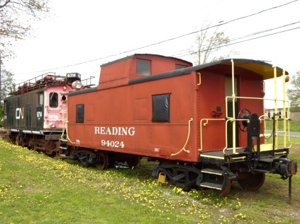 There is nothing like a red caboose.