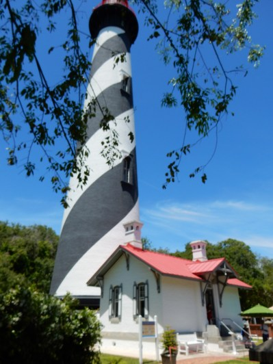 St. Augustine Lighthouse. Sorry, I couldn't get back any farther.