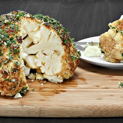 Whole Roasted Cauliflower