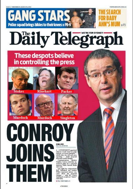 Daily Telegraph Front page corrected by Twitter