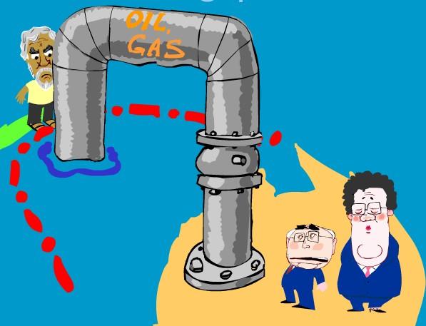 Created by Peter Nicholson NicholsonCartoons.com.au (http://nicholsoncartoons.com.au/east-timor-and-oil.html)