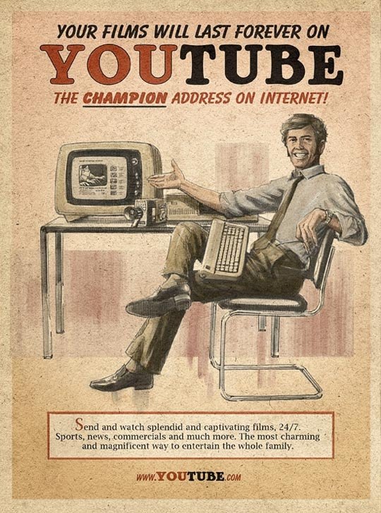 Vintage Tech Prints from Apartment Therapy