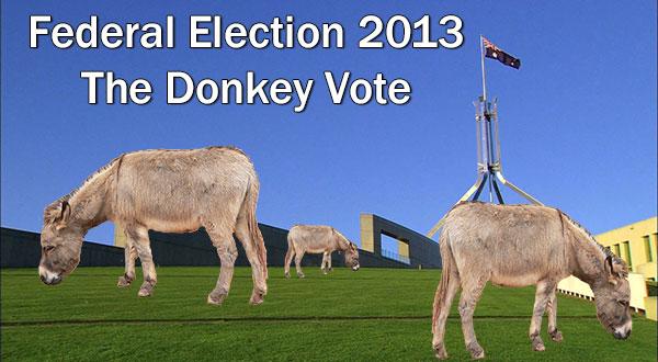 Donkey-Vote