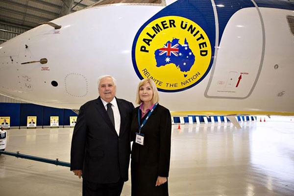 Karin-Hunter-with-Clive-Palmer