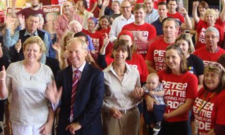Beattie campaign launch: @stephaniedale22 reports