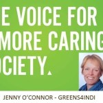 Greens Indi candidate @JennyJenocon on #Indivotes