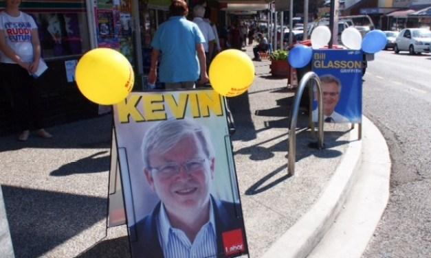Bad press, poll shock cloud Rudd's bid for Griffith