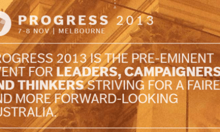 Progress 2013 Conference to plot political futures, by @Kevin_Rennie