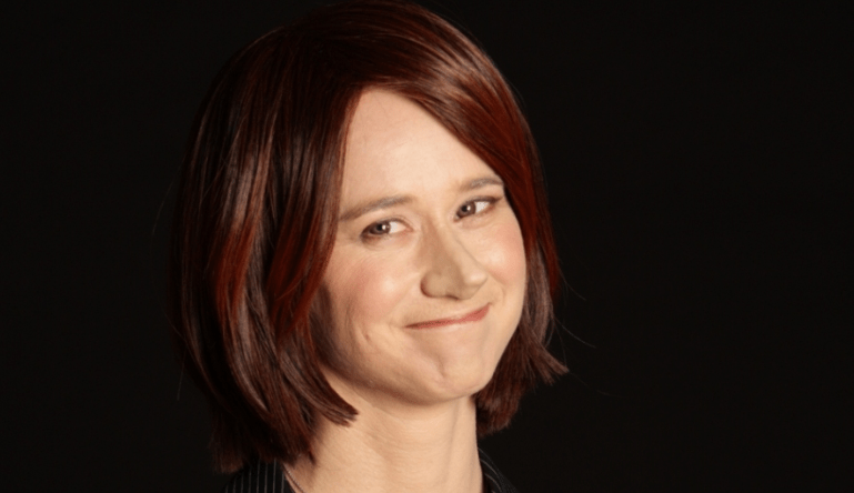 REAL JULIA? Amanda Bishop as Julia Gillard.