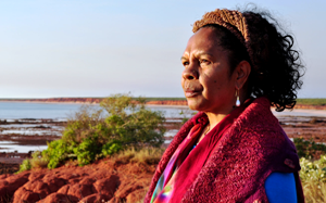 Dr Anne Poelina, member of the Nyikina Mungala people and a traditional custodian of the lower Fitzroy River in the Kimberley, and Councillor on Broome Shire Council.