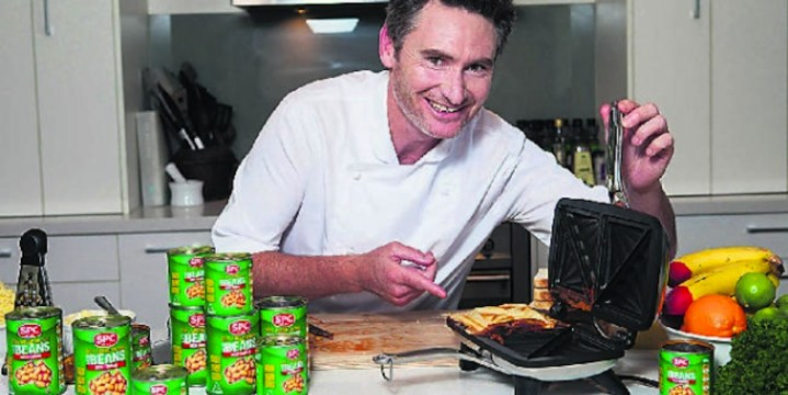 Comedian Dave Hughes participated in SPC