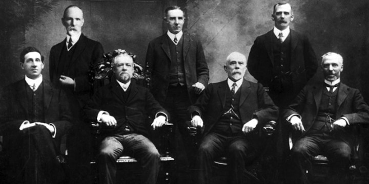 Inaugural departmental heads of the Australian Commonwealth Public Service - 1901 (Source: Wikipedia).