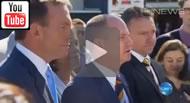 Ten News Qld: Tony Abbott pleges $5 millions to the Brisbane Broncos & Campbell Newman gifts land worth $2 million.