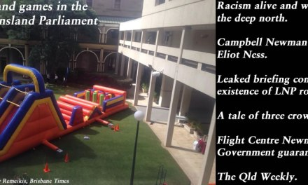 Fun and games in the Queensland Parliament – The Qld Weekly #qldpol: @Qldaah