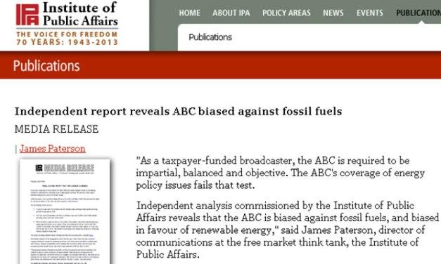 Innumerate or deceptive: @adropex dissects @TheIPA 'report' into ABC coal coverage #leardblockade