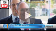 Ten News Qld: Premier Campbell Newman has laughed off suggestions he should step aside due to poor Galaxy polling.