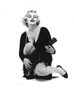 Marilyn Monroe in Some Like it Hot (1959) in an Orry-Kelly original.