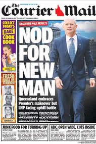 The Courier Mail: Galaxy poll, 50% TPP