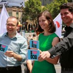 Adam Bandt MP Ellen Sandell Senator Scott Ludlam