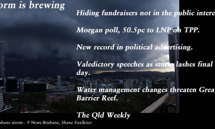Hiding fundraisers not in the public interest – The Qld Weekly #qldpol: @Qldaah