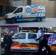 Signs of commercialisation and privatisation: Santos cops and Wilson Ambos