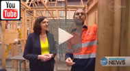 Ten News Qld: Annastacia Palaszczuk to restore apprenticeship levels & lower youth unemployment.