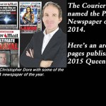 The Courier Mail was named the PANPA Newspaper of the Year for 2014.