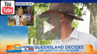 9 News Brisbane: Newman could become first Qld Premier to lose his seat in 100 years