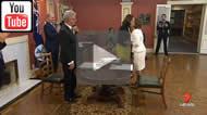 7 News Brisbane: Annastacia Palaszczuk sworn in as Premier and Jackie Trad as Deputy Premier.