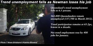January 2015 Qld trend unemployment falls to 6.5pc, #qldpol #qldvotes: @Qldaah