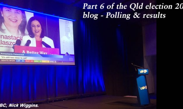 Pt 6 of the Qld election blog for 2015 – Polling and results #qldvotes #qldpol @Qldaah
