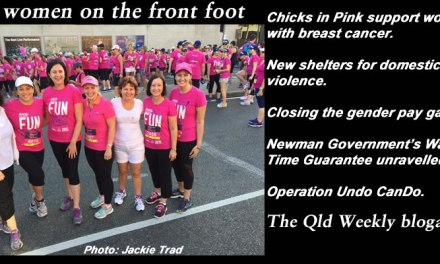 Qld women on the front foot – The Qld Weekly blogazine #qldpol: @qldaah