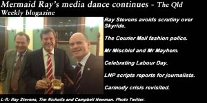 Mermaid Ray's media dance continues - The Qld Weekly blogazine