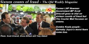 Sixteen counts of fraud - The Qld Weekly blogazine