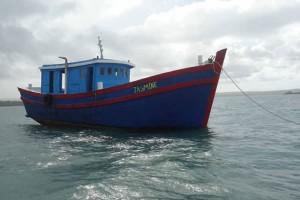 "Indonesian Police: Suspected Australian Supplied Vessel ""Jasmine""."