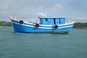 "Indonesian Police: Suspected Australian Supplied Vessel ""Kanak""."