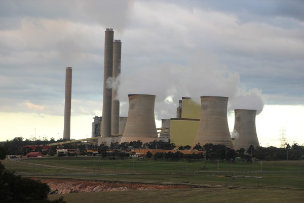 Loy Yang A and B Power stations in the Latrobe Valley. Photo: John Englart