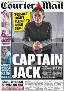 The Courier Mail - Captain Jack - 12 June 2015.