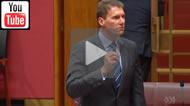 Senator Cory Bernardi says Christians take priority, Aylan Kurdi's family not in danger.