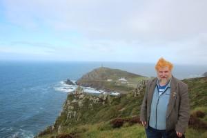 John Englart at Cape Cornwall