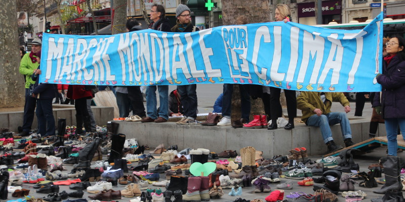 #Climate justice demanded of world leaders at #COP21 reports @takvera from Paris