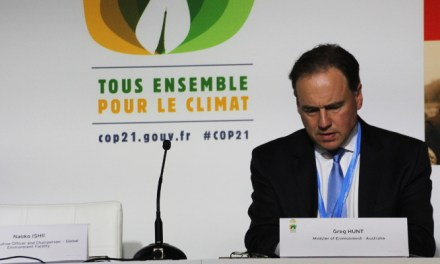 Australia agrees to 1.5 degrees inclusion in #COP21 Draft climate agreement reports @takvera