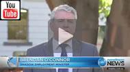 Ten Eyewitness News: Brendan O'Connor accuses Ewen Jones of crocodile tears.