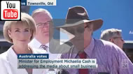 ABC News 24: Corn flakes & Weet-Bix at risk from RSRT, agree Michaelia Cash & Ewen Jones/