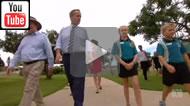 ABC News Qld: #qldpol #ausvotes Bill Shorten campaigns in George Christensen's seat of Dawson.