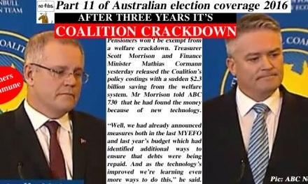Part 11 of NoFibs Australian election coverage 2016: @Qldaah #ausvotes #auspol #qldpol