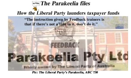 The Parakeelia files: @Qldaah #ausvotes #auspol #qldpol