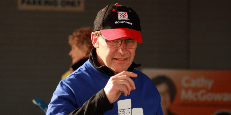 Tony Schneider, the president of the Benalla Branch of the Liberal. Photo: @jansant
