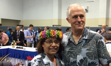 Turnbull increases #climate aid for Pacific at Regional leaders meeting reports @takvera