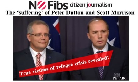The 'suffering' of Peter Dutton and Scott Morrison – @Qldaah #auspol